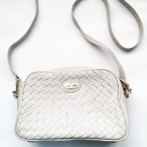 Etienne Aigner quilted crossbody bag